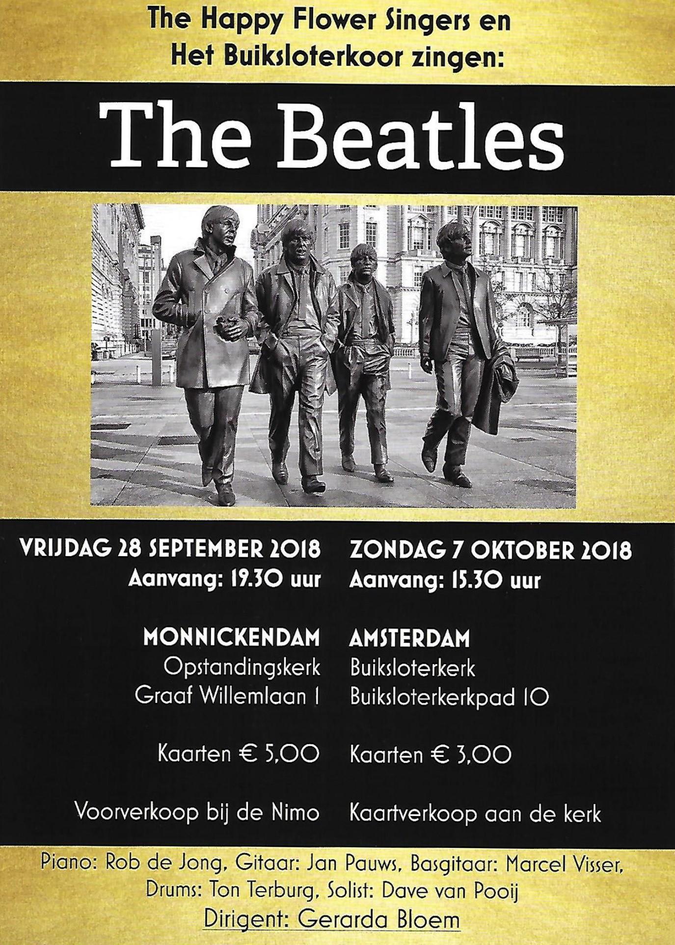 Bekende en minder bekende liederen van de The Beatles komen voorbij.  (Foto: aangeleverd)
