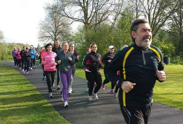 Via het programma Start to Run kunnen mensen het hardlopen (weer) oppakken. (Foto: Atletiekvereniging Zaanland)
