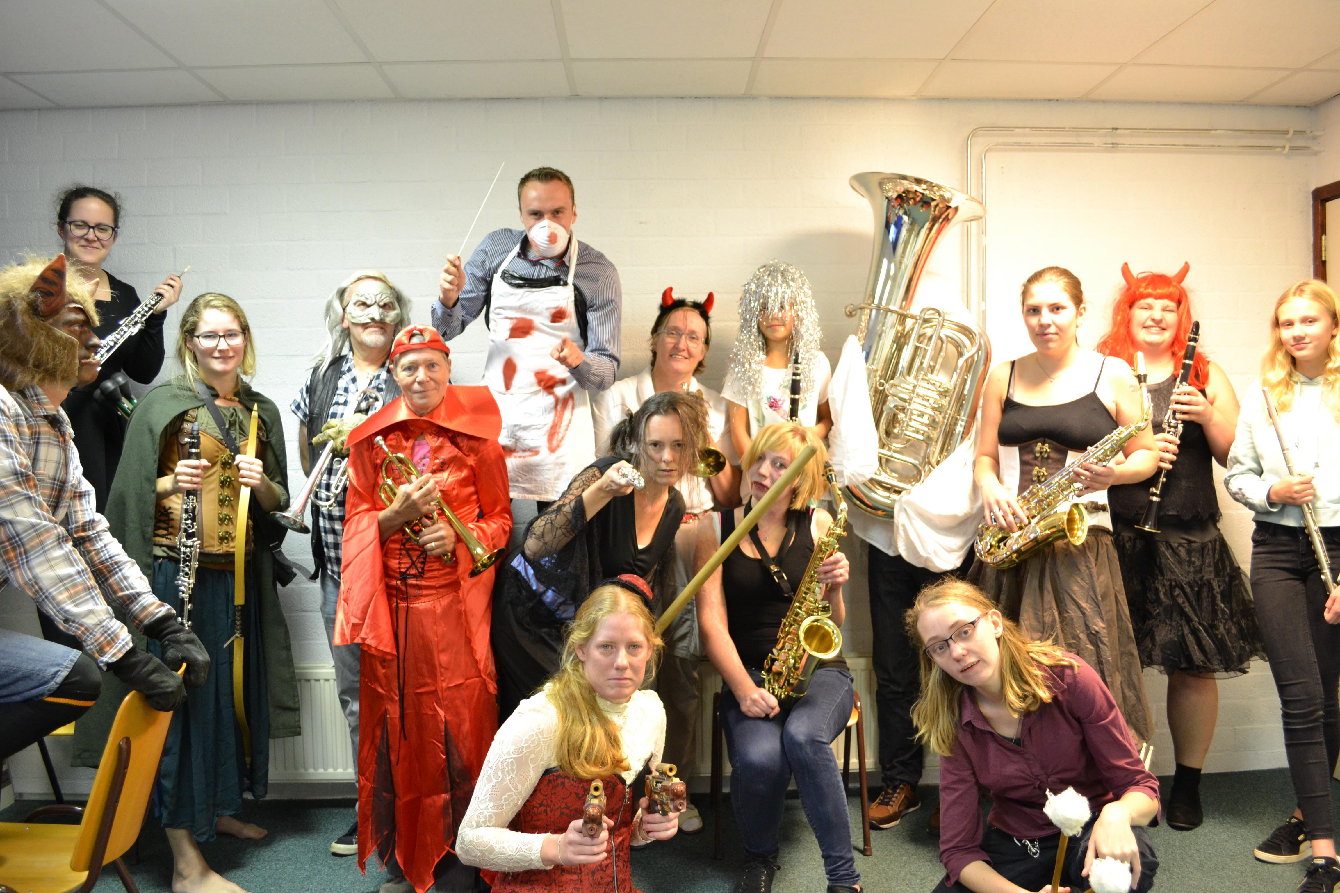Halloweenfeest bij Concordia