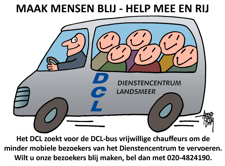 Tekening van de Landsmeerse cartoonist Arend van Dam. (Afbeelding: aangeleverd)