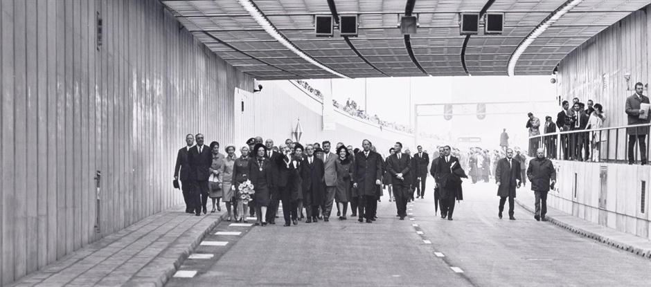 De IJtunnel bestaat 50 jaar. (Foto: gemeente Amsterdam)