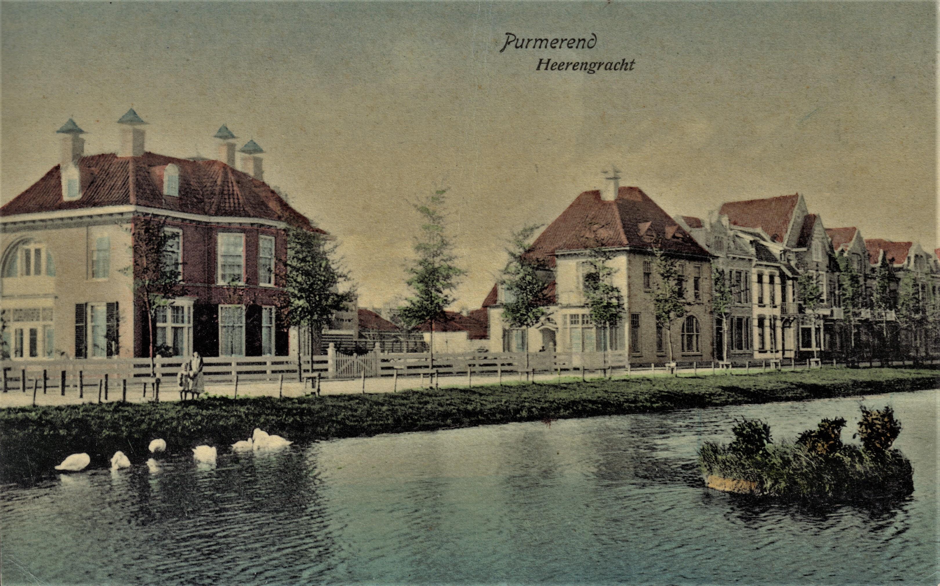 De Villa's Schoonoord en Maria aan de Herengacht, ontworpen door Jan Stuyt. (Beeld: aangeleverd)