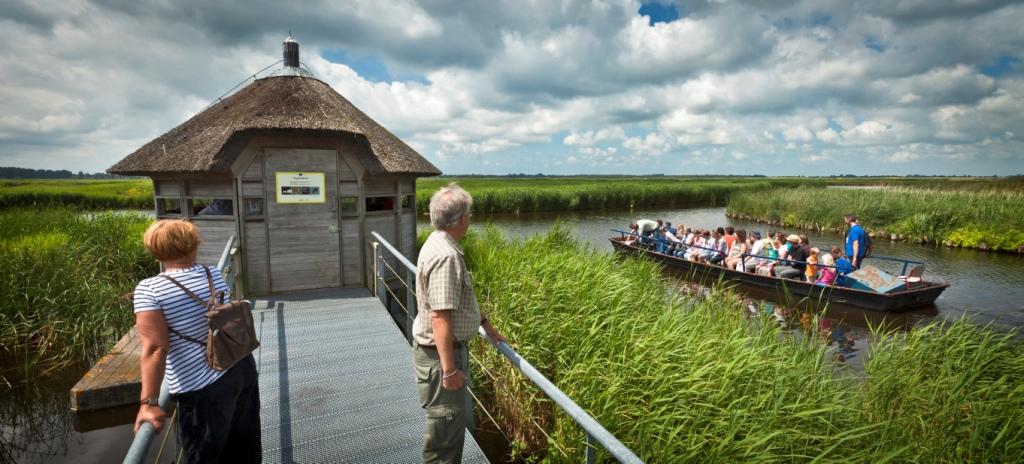 De vogelkijkhut in het Ilperveld. (Foto: Dutchphoto)