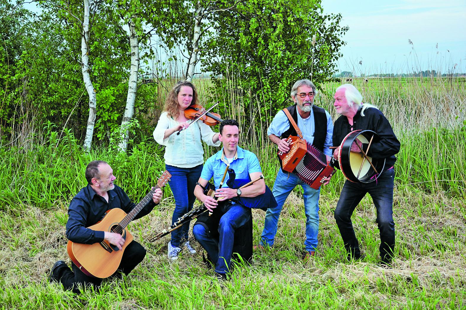 Baloney Celtic Music viert haar twintigjarig bestaan in Radboud. Vier ook het feest mee! (Foto: aangeleverd)
