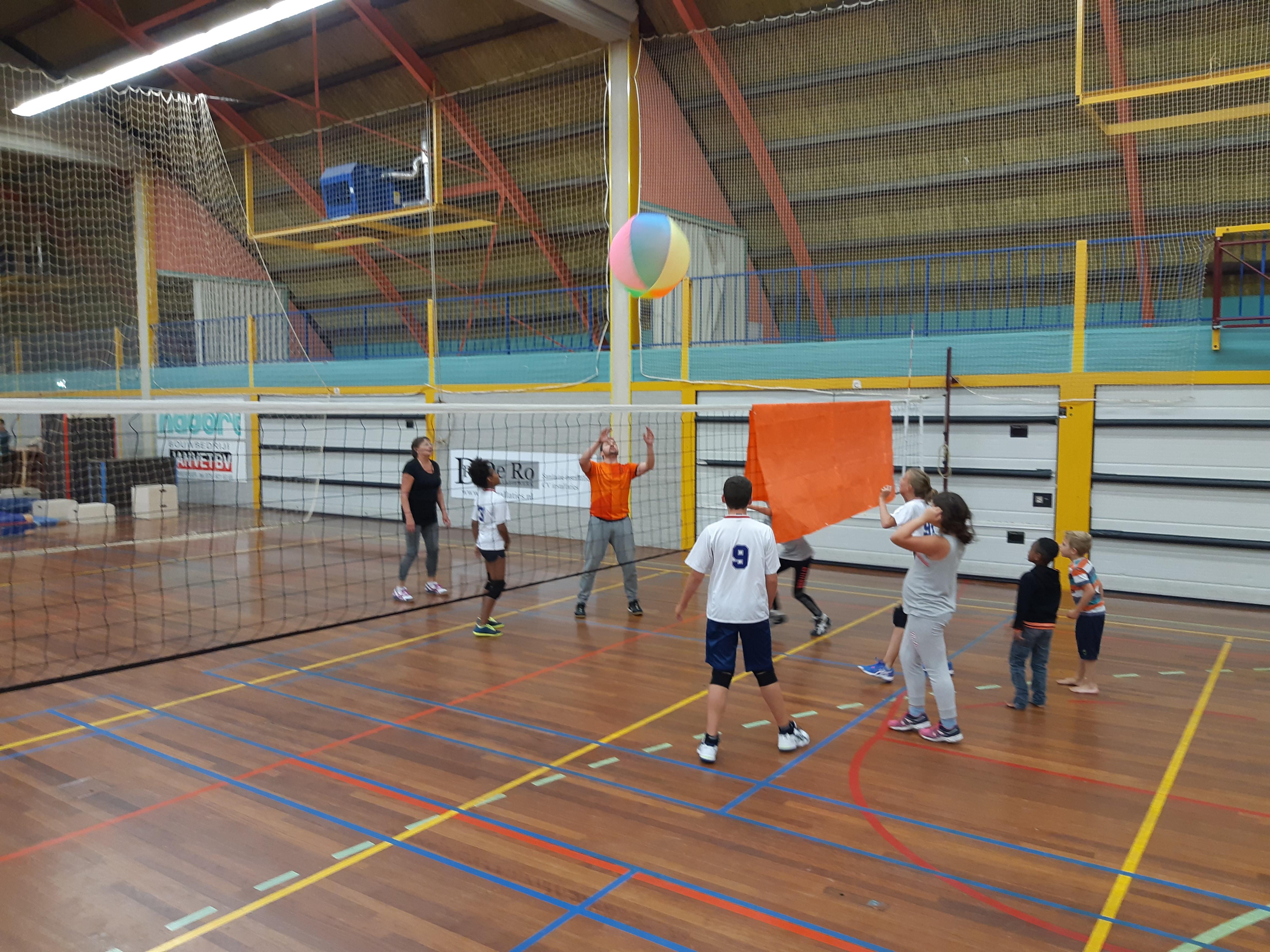 VCC'92 uit Wormer houdt voor kinderen van 7 tot en met 9 jaar tien volleybaltrainingen. (Foto: VCC'92)