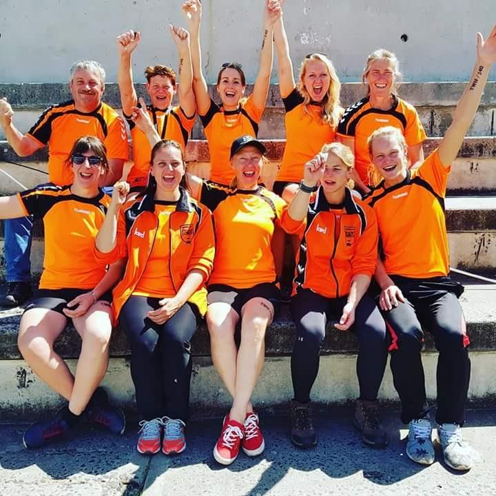 De Oranje-dames werden vierde. (Foto: TTV Monnickendam)
