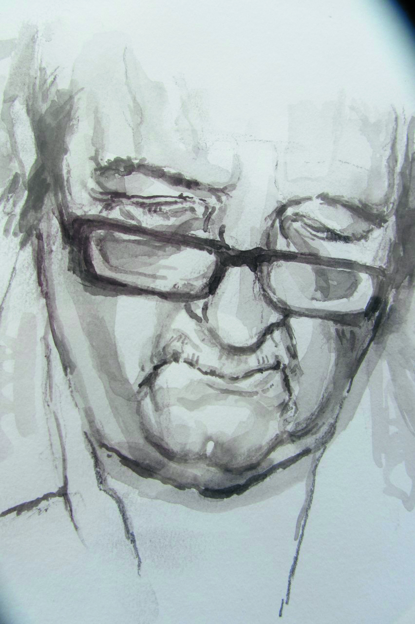 Albert Heijn. (Foto: JdW) Jan de Waal. (Tekening: Mieneke Karelsen) rodi.nl © rodi