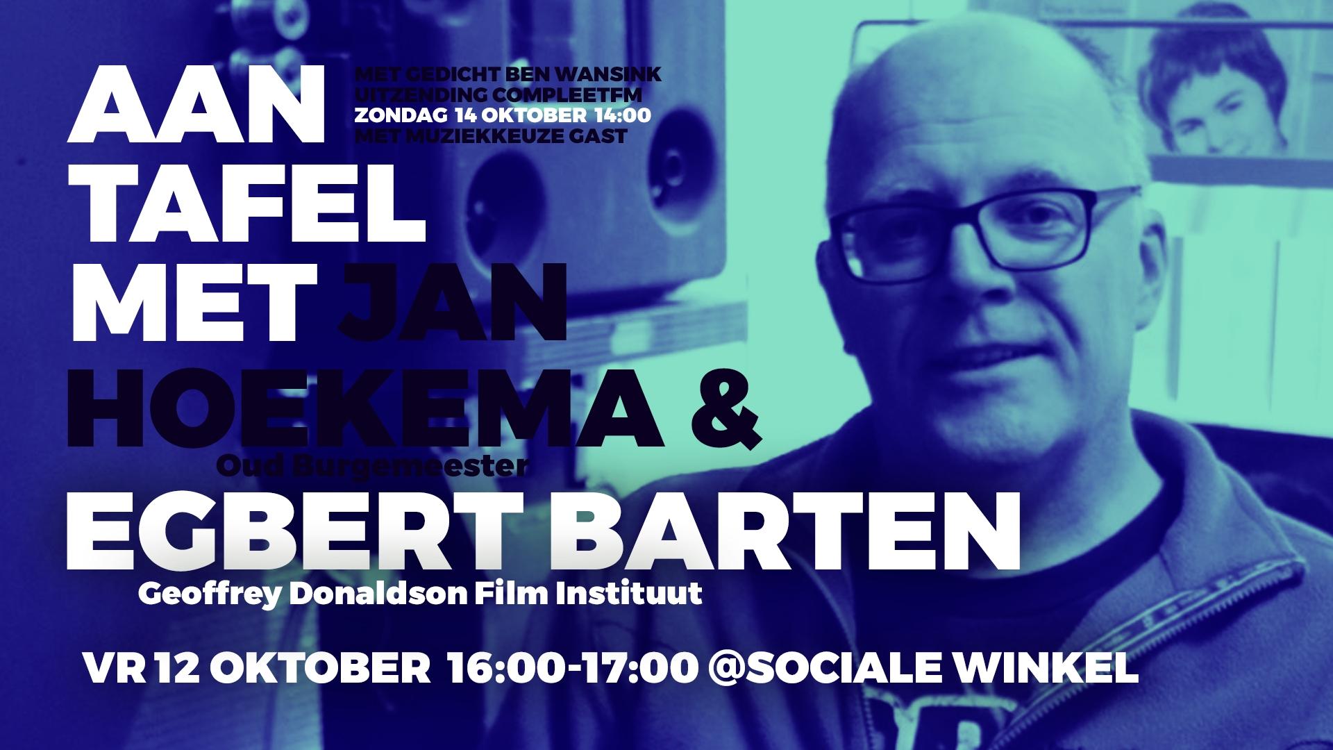 Aan tafel met... Egbert Barten