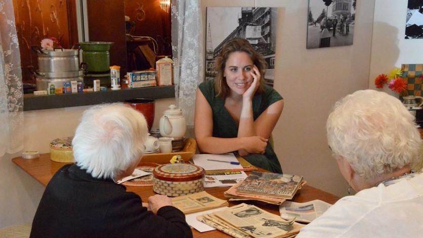 Het aantal ouderen neemt elk jaar toe en de 'nieuwe generatie ouderen' vraagt om meer maatwerk. (Foto: Stichting De Tijdmachine)