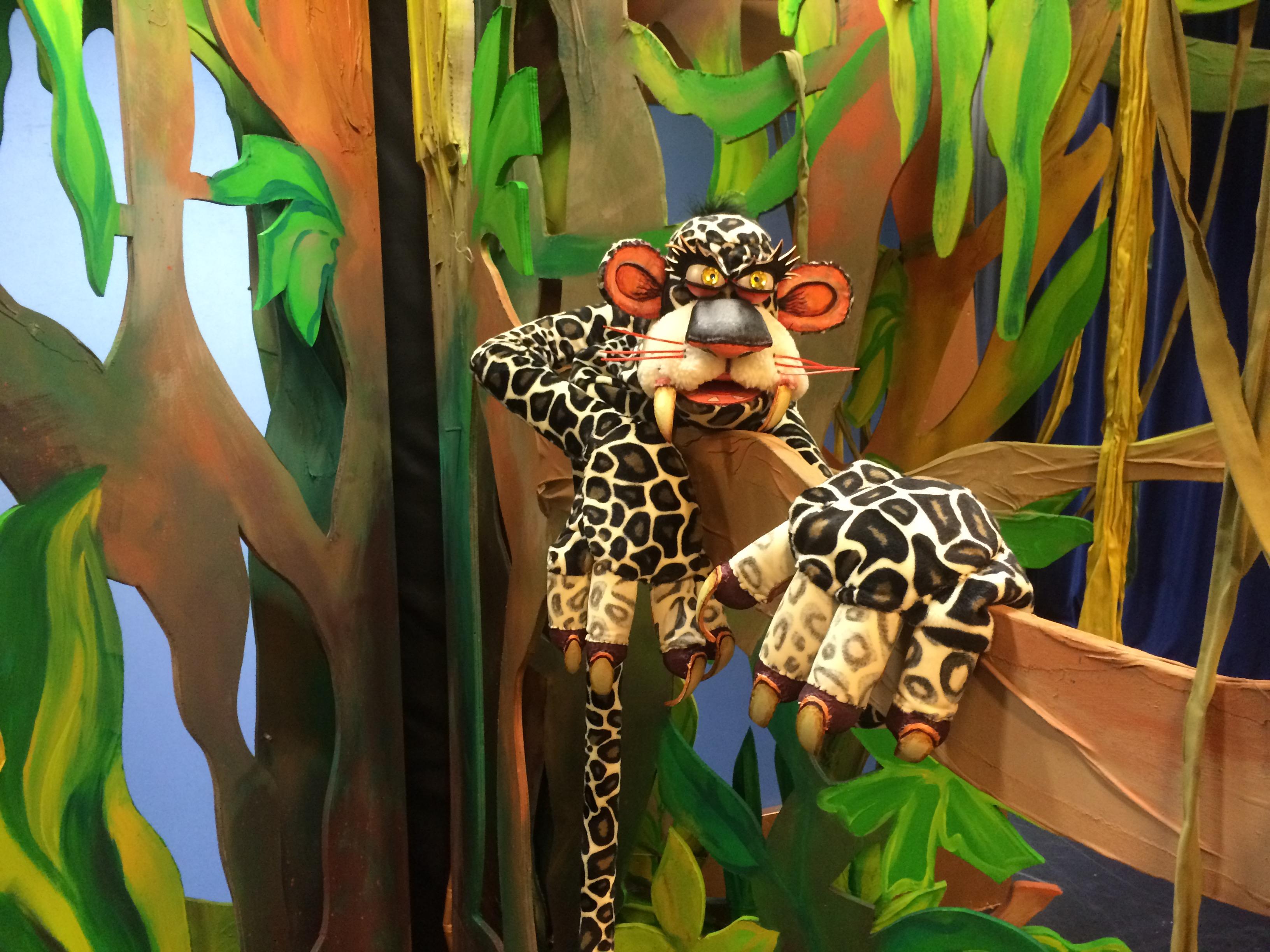 Tarzan is de niewste voorstelling van Ila van der Pouw. (Foto: aangeleverd)