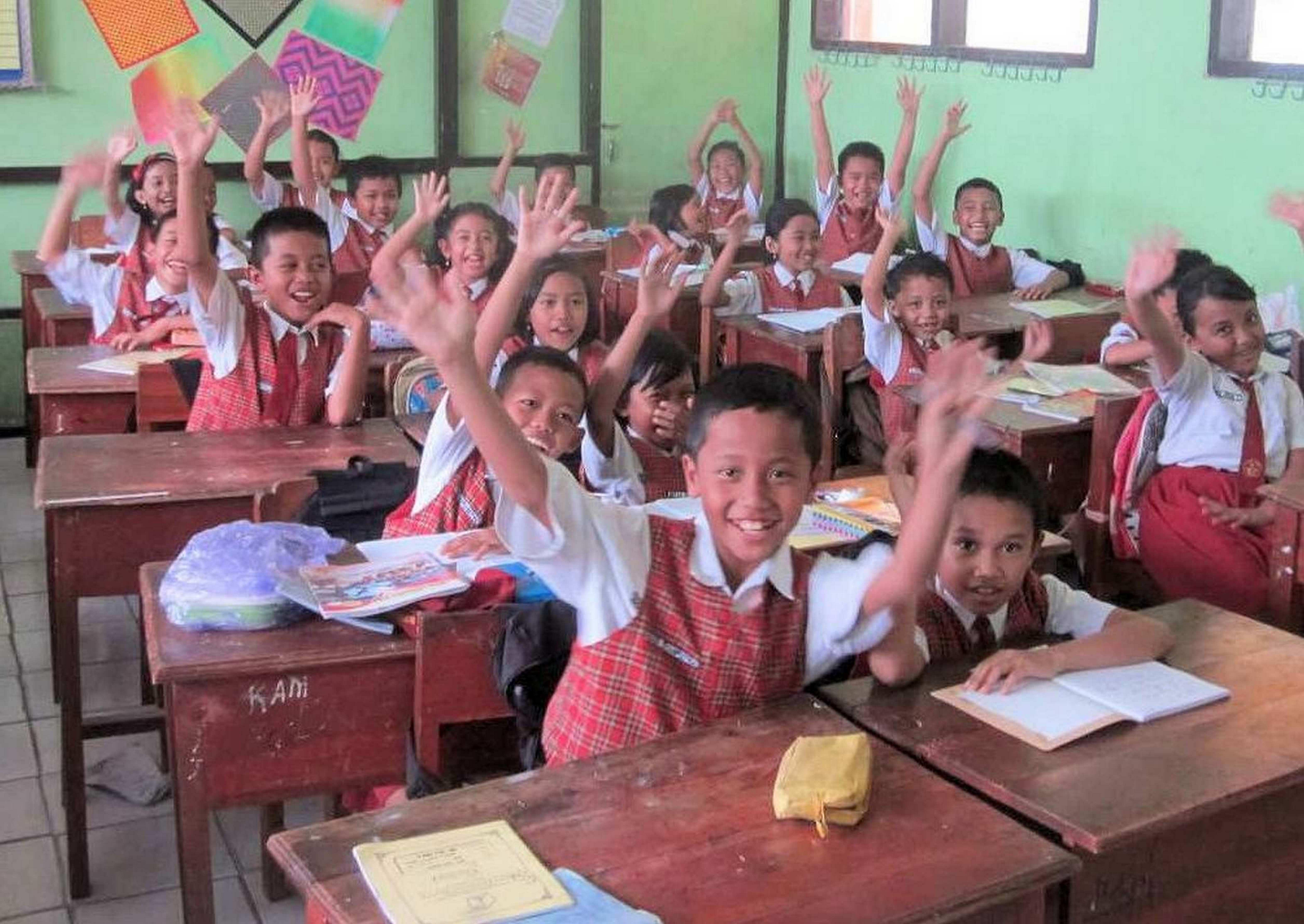 De West-Friese stichting Kartini zet zich al veertig jaar in voor kansarme kinderen in de regio Malang op Oost Java, Indonesië. Het doel: door scholing de kinderen een kans te geven op een betere toekomst. (Foto: aangeleverd)