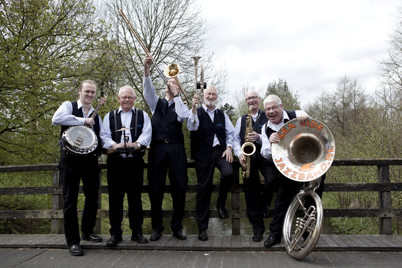 Sea Side Jazzband. (Foto: aangeleverd)