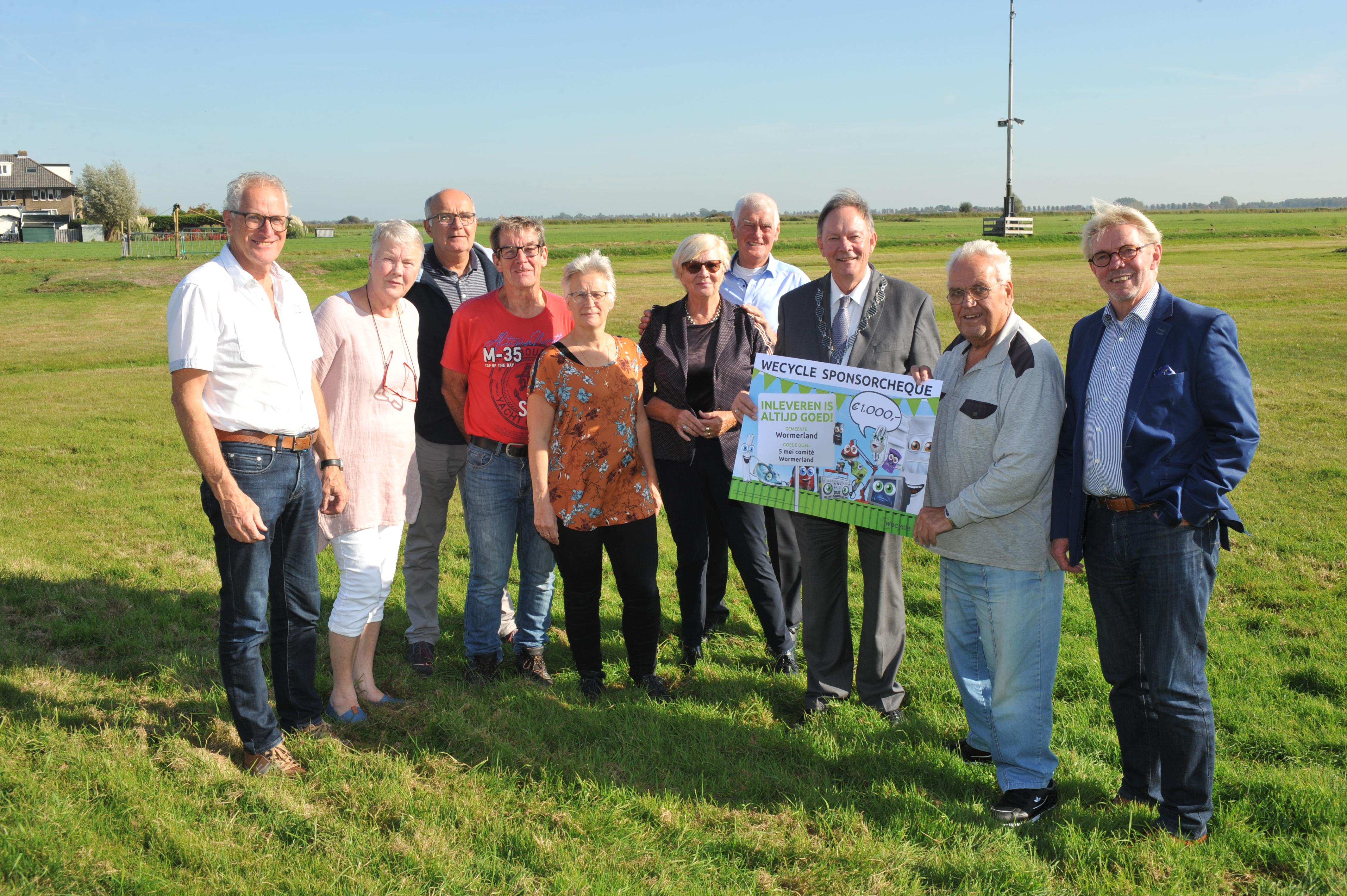 Het 5 mei comité organiseert onder andere de jaarlijkse Bannetocht, een 26 kilometer lange fiets- en wandeltocht door de vijf kernen van de gemeente Wormerland. (Foto: Gemeente Wormerland)