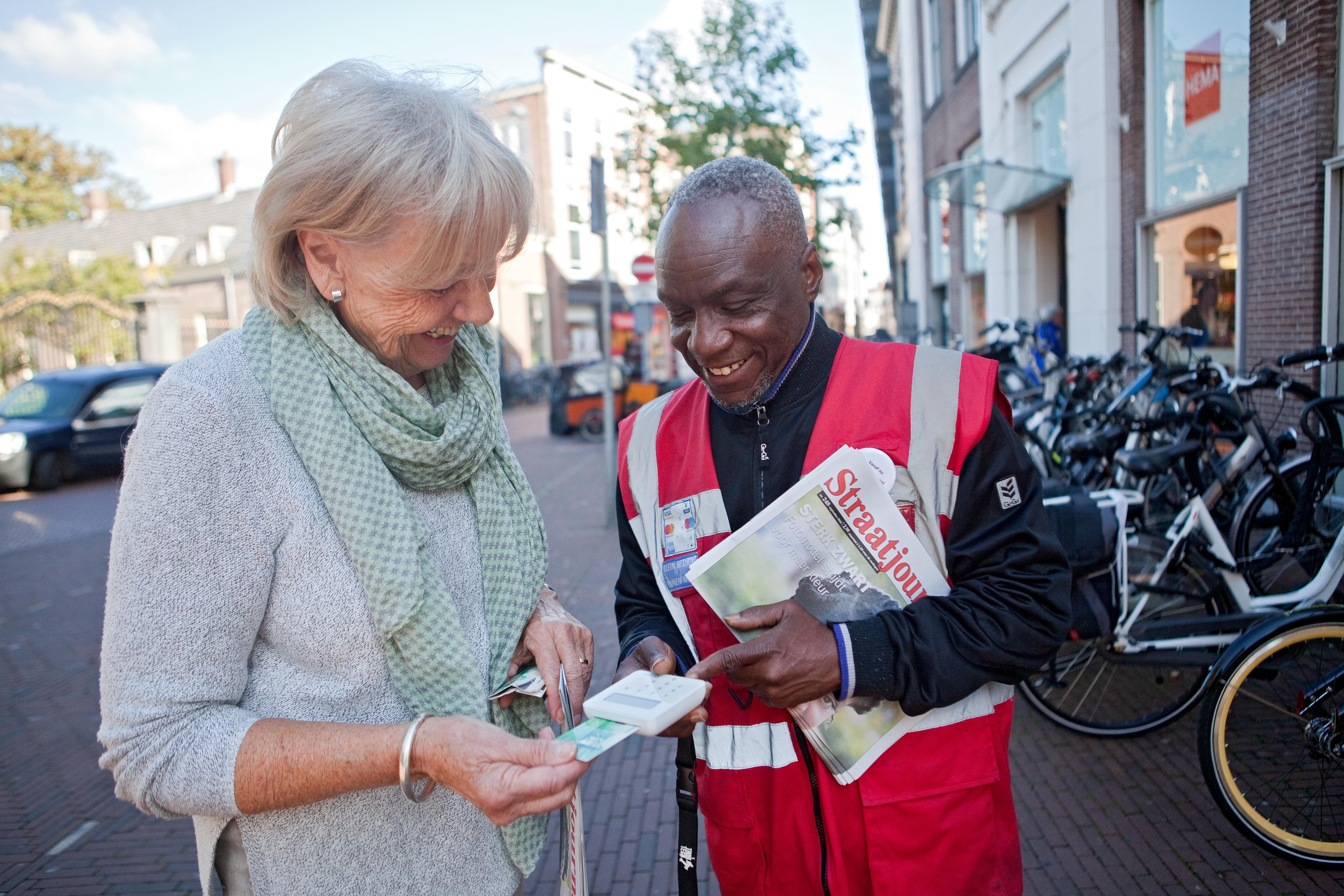 Daklozen gaan met de tijd mee (Foto: PR)