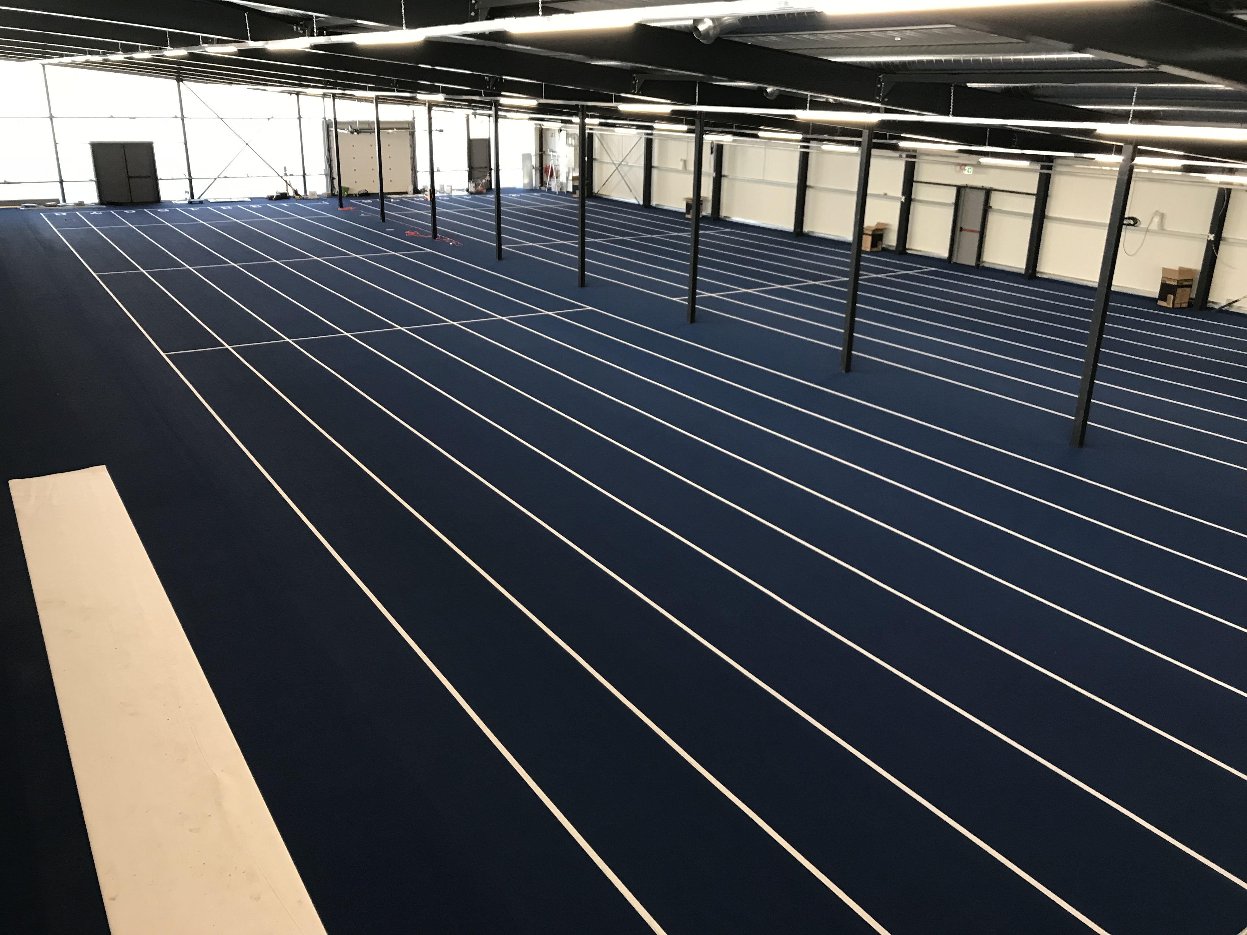 De Indoorhal. (Foto: Atletiekvereniging Lycurgus)