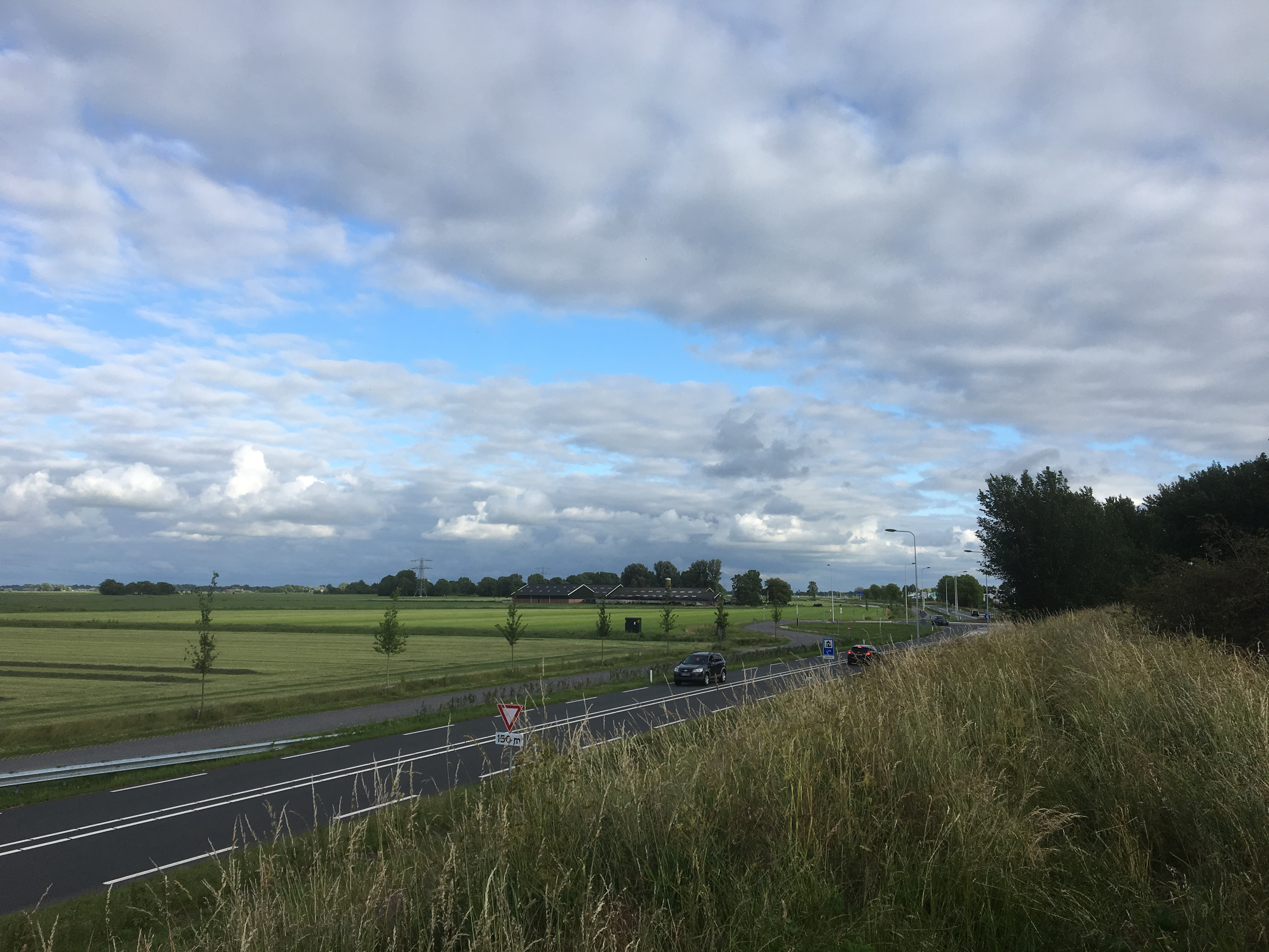 De provinciale weg N241 tussen Schagen en het Verlaat krijgt permanente verlichting. (Foto: Provincie Noord-Holland)