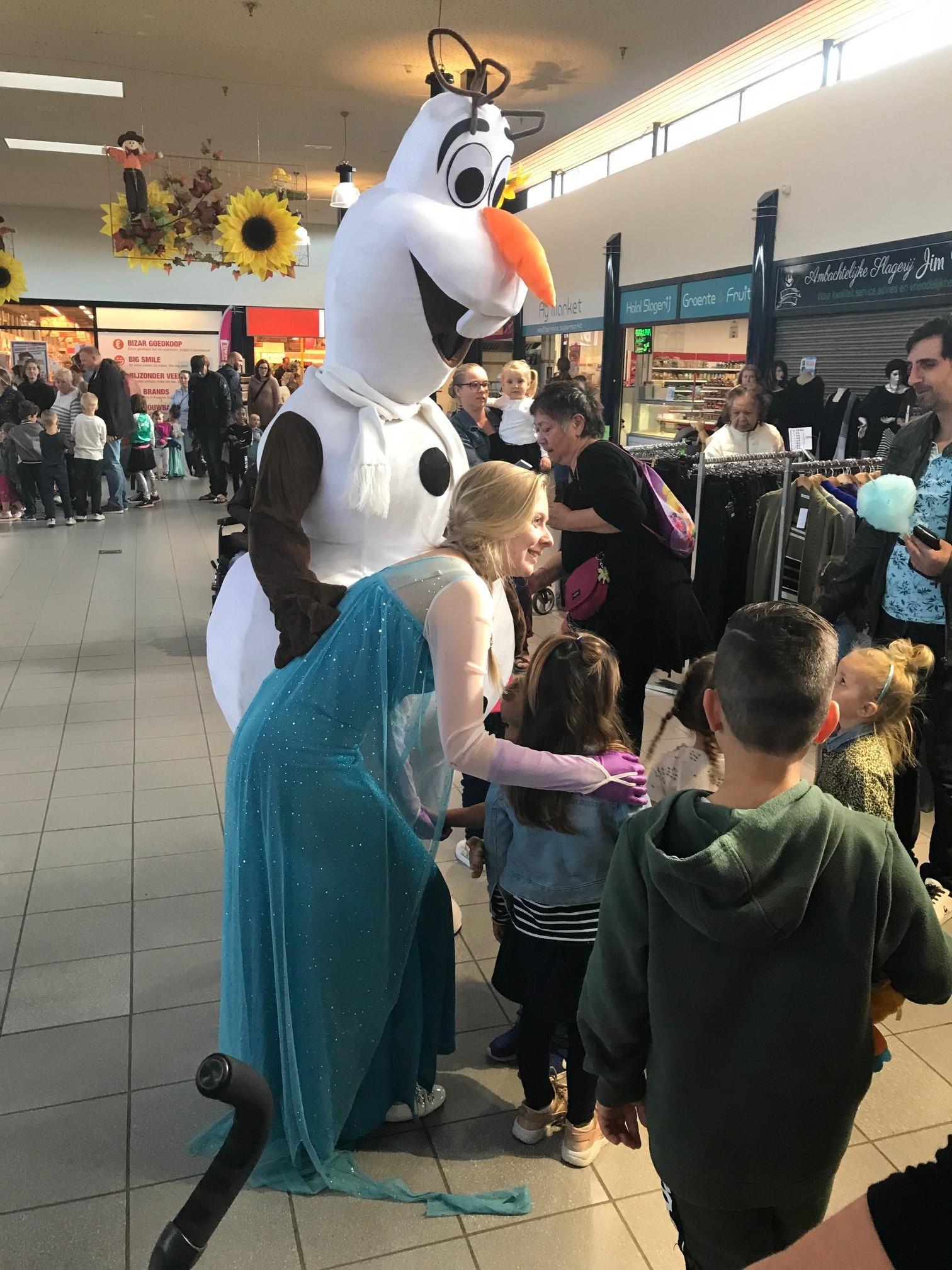 De hoofdrolspelers uit Frozen zijn 6 oktober te zien in Makado. rodi.nl © rodi