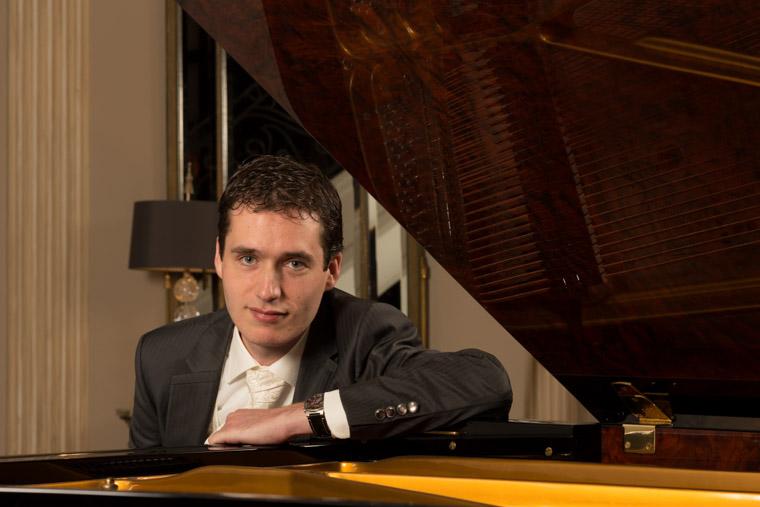Pianist Wouter Harbers. (Foto: aangeleverd)