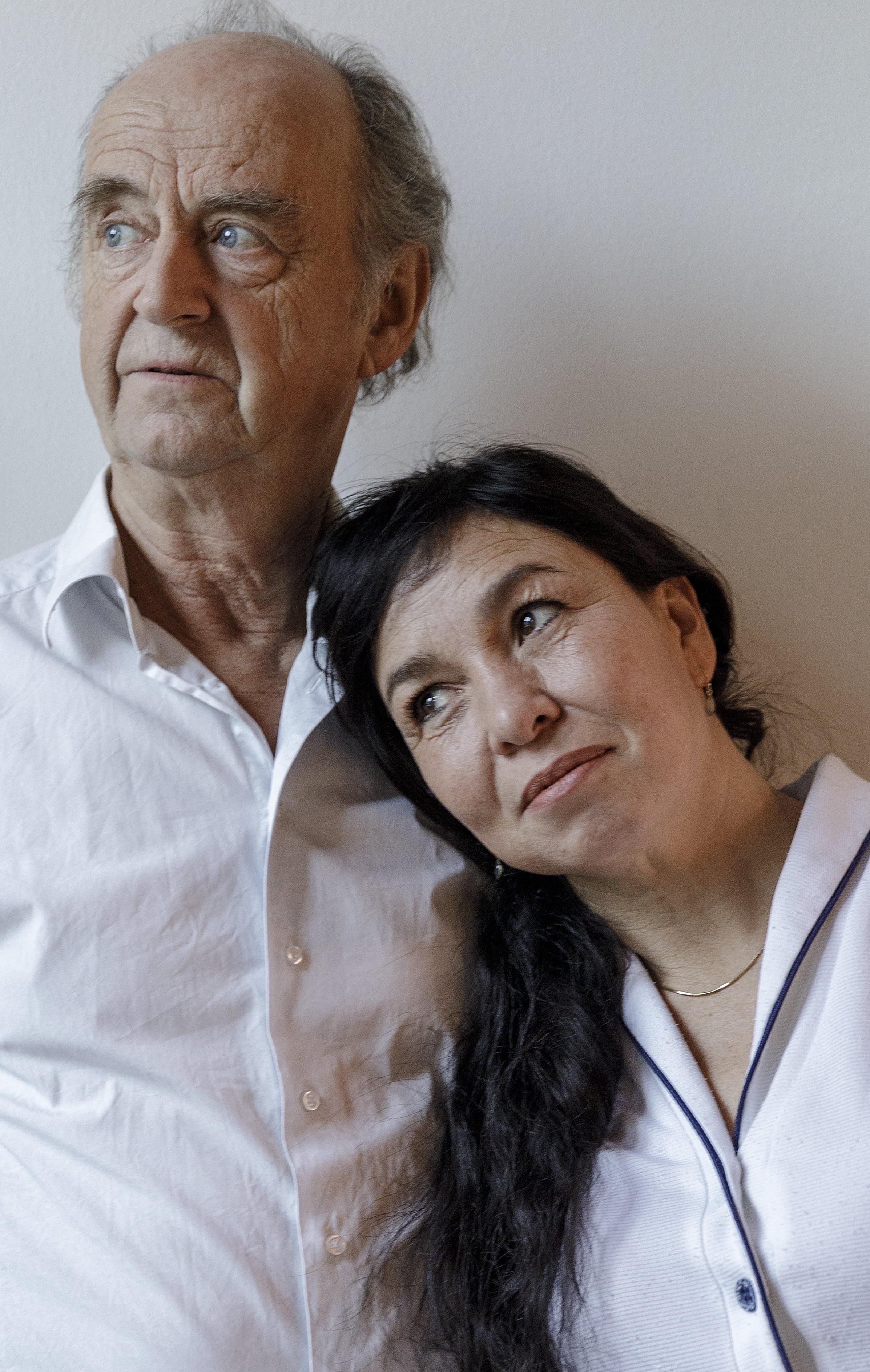 Kees Hulst en Esther Scheldwacht. (Foto: Theater De Kunstgreep)