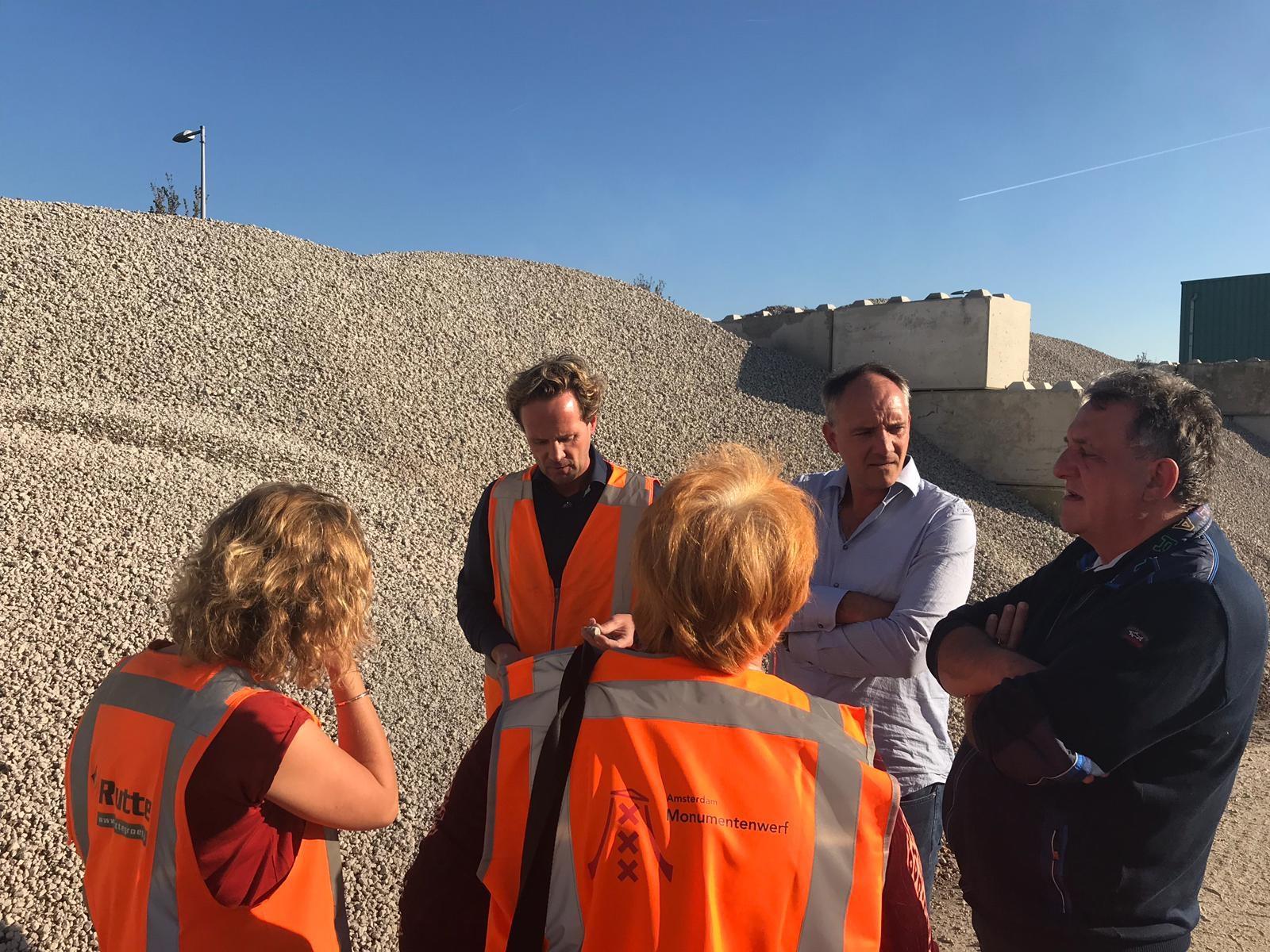 Bezoek van Groenlinks aan Duurzaamheidsprijswinnaar de Rutte Groep. (Foto: aangeleverd)