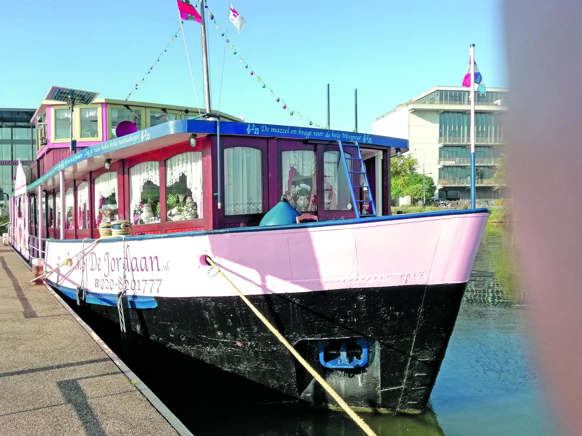 De Jordaanboot. (Foto: aangeleverd)