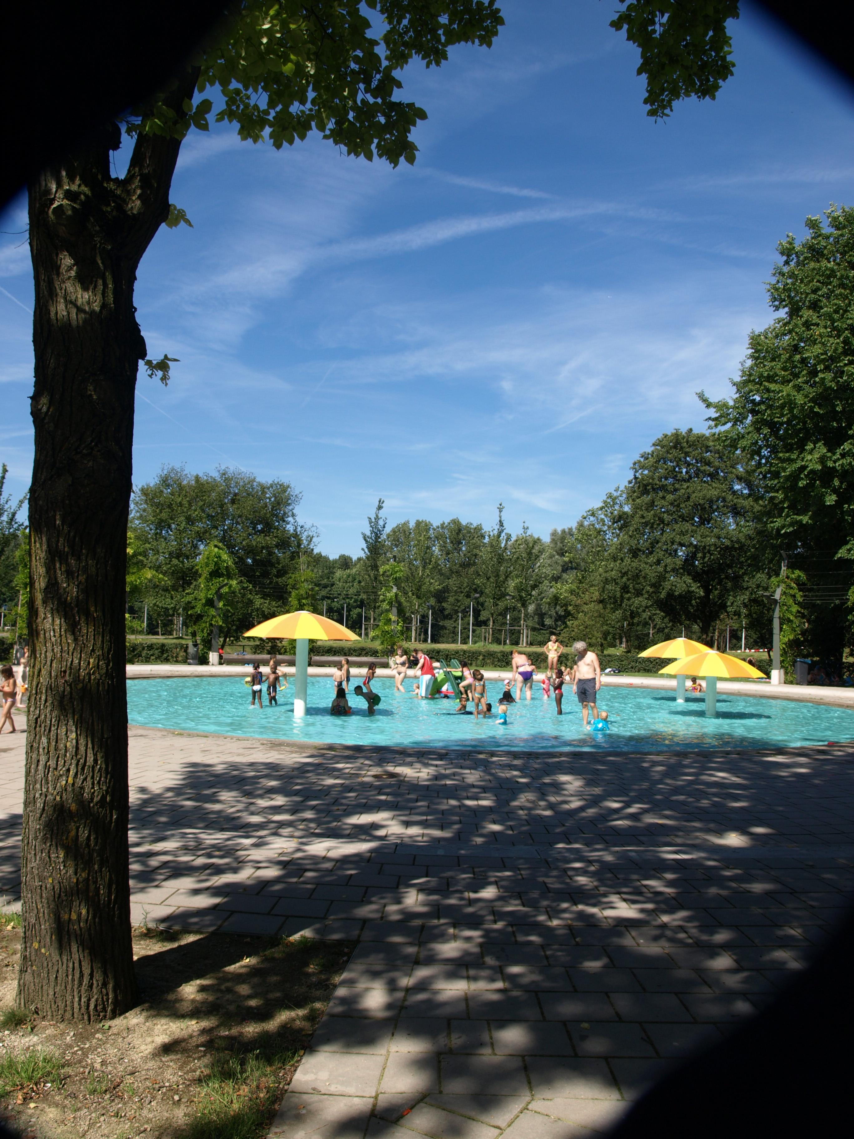 Pierenbadje in het Noorderpark. (Foto: aangeleverd)