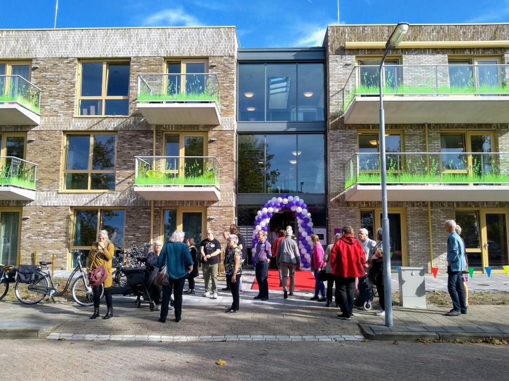 De nieuwe Odionlocatie Bristolroodstraat in Zaandam. (Foto: Odion)