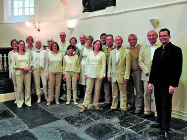 Vocaal Ensemble Intermezzo. (Foto: Vocaal Ensemble Intermezzo) rodi.nl © rodi