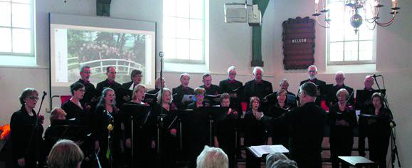 Vocaal Ensemble Intermezzo. (Foto: Vocaal Ensemble Intermezzo)