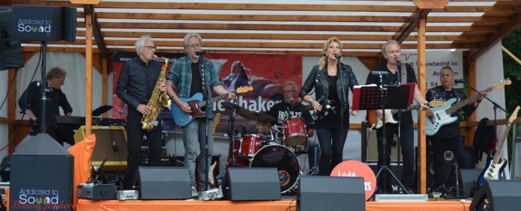 De Hoornse band Lijda and the Shakers. (Foto: aangeleverd)