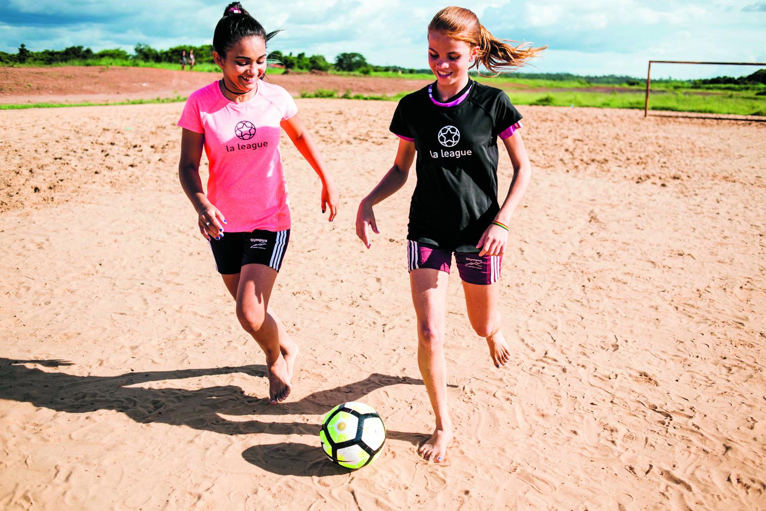 'De kern van de projecten bestaat uit het idee dat meisjes hun eigen ontwikkeling beïnvloeden.' (Foto: Bill Tanaka)