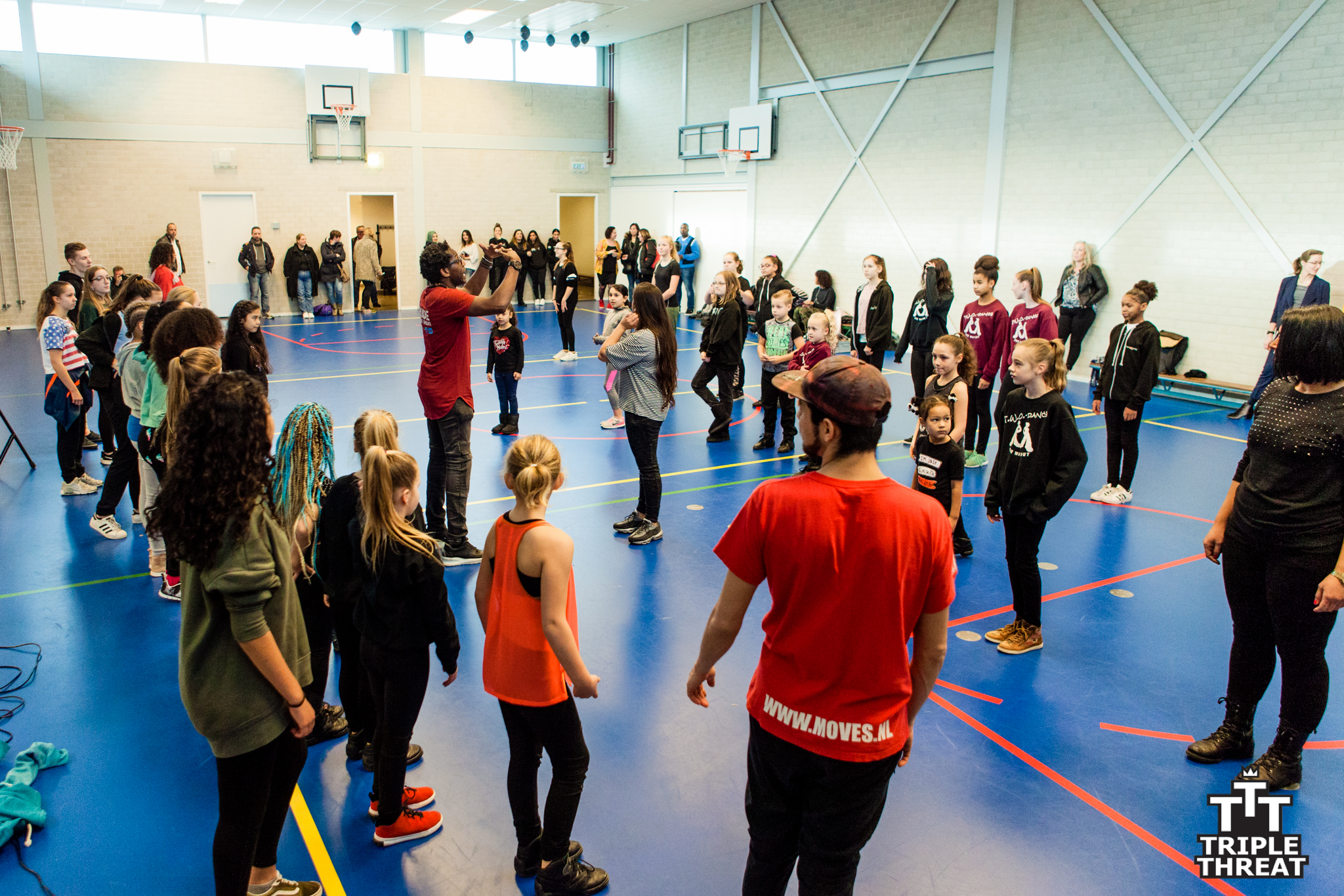 Triple ThreaT koppelt dans en basketball aan cultuur. (foto aangeleverd0