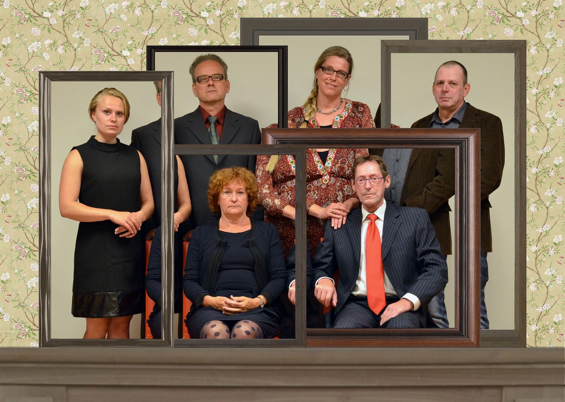 Tussen De Planken Door speelt 'Familie' in het Scagontheater. (Foto: aangeleverd)