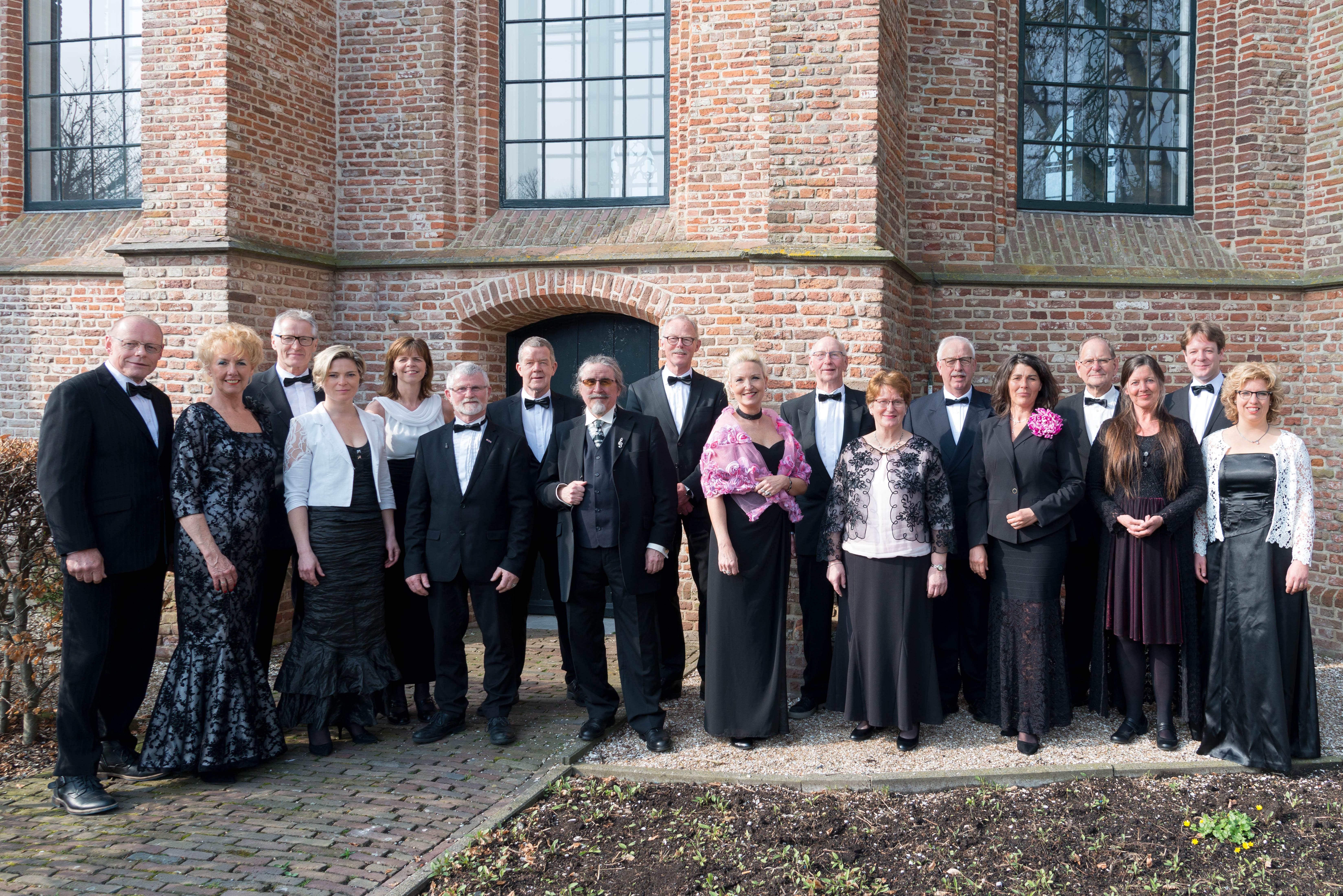 Het Opmeers Vocaal Ensemble zingt Krönungsmesse van Wolfgang Amadeus Mozart in de Bonifatiuskerk in Spanbroek. (Foto: aangeleverd)