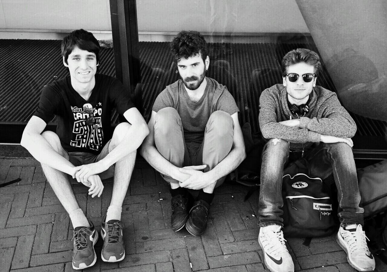 De drie heren van Tommasso Perazzo Trio. (Foto: aangeleverd)