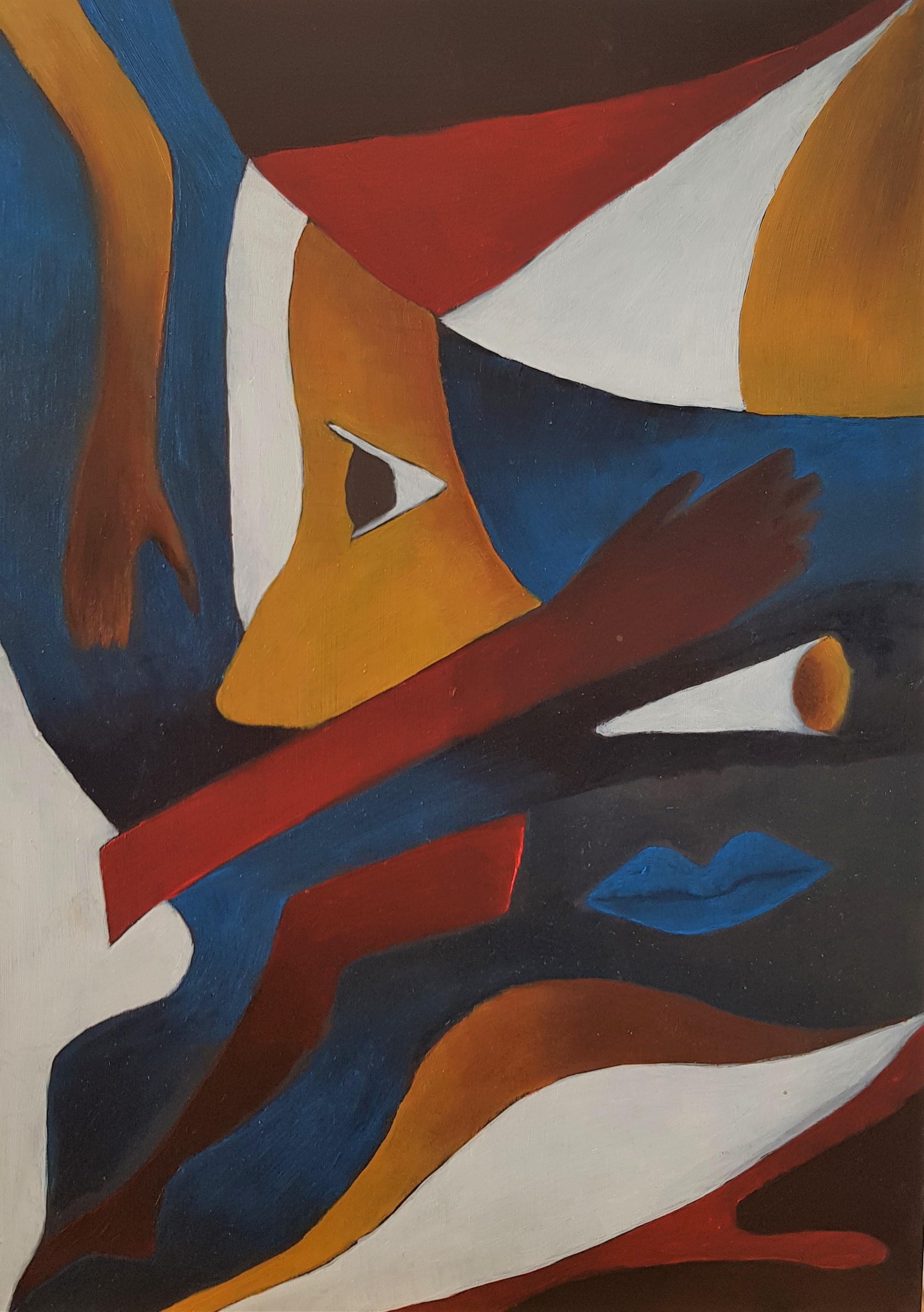 Werk van Thelma den Adel. (Foto: Galerie Zaansgroen)