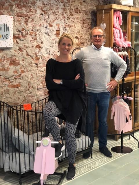 Peter en dochter Chantal van der Meij. (foto aangeleverd)
