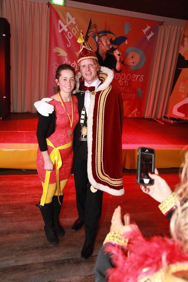 Het bestuur van De Haringhoppers heeft het volste vertrouwen dat de nieuwe prins en prinses volwaardige opvolgers zijn van Prins Tom (Thomas de Boer) en zijn Marieke. (Foto: aangeleverd)