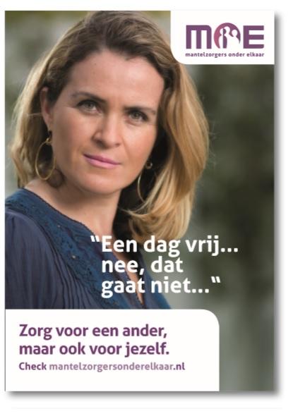 Campagne Aandacht voor Mantelzorgers. (Foto: MOE)