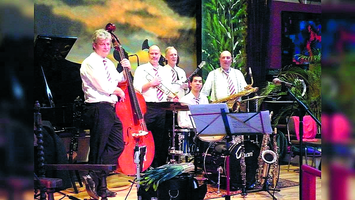 De FBI Jazzband. (Foto: aangeleverd)