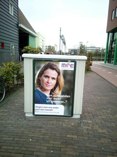 Campagne Aandacht voor Mantelzorgers. (Foto: MOE) rodi.nl © rodi