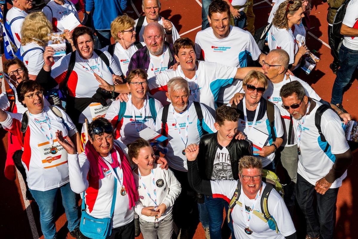 Na een geslaagde finale van NDC in Amsterdam, heeft de loopgroep in Enkhuizen besloten door te blijven lopen. (Foto: aangeleverd)
