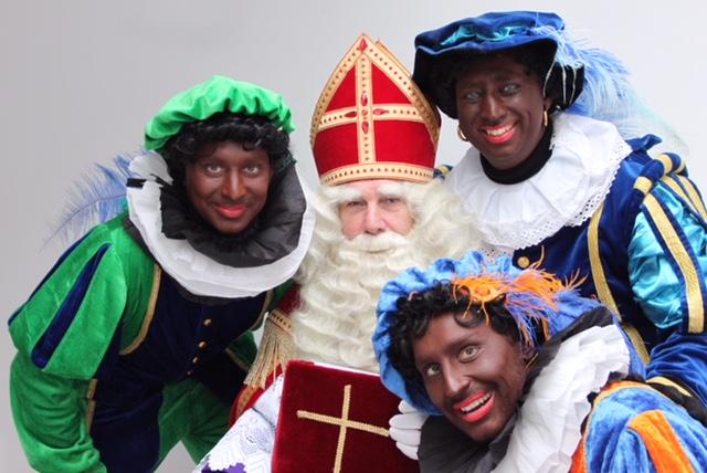 Sinterklaas en zijn gezelschap (Foto: PR)