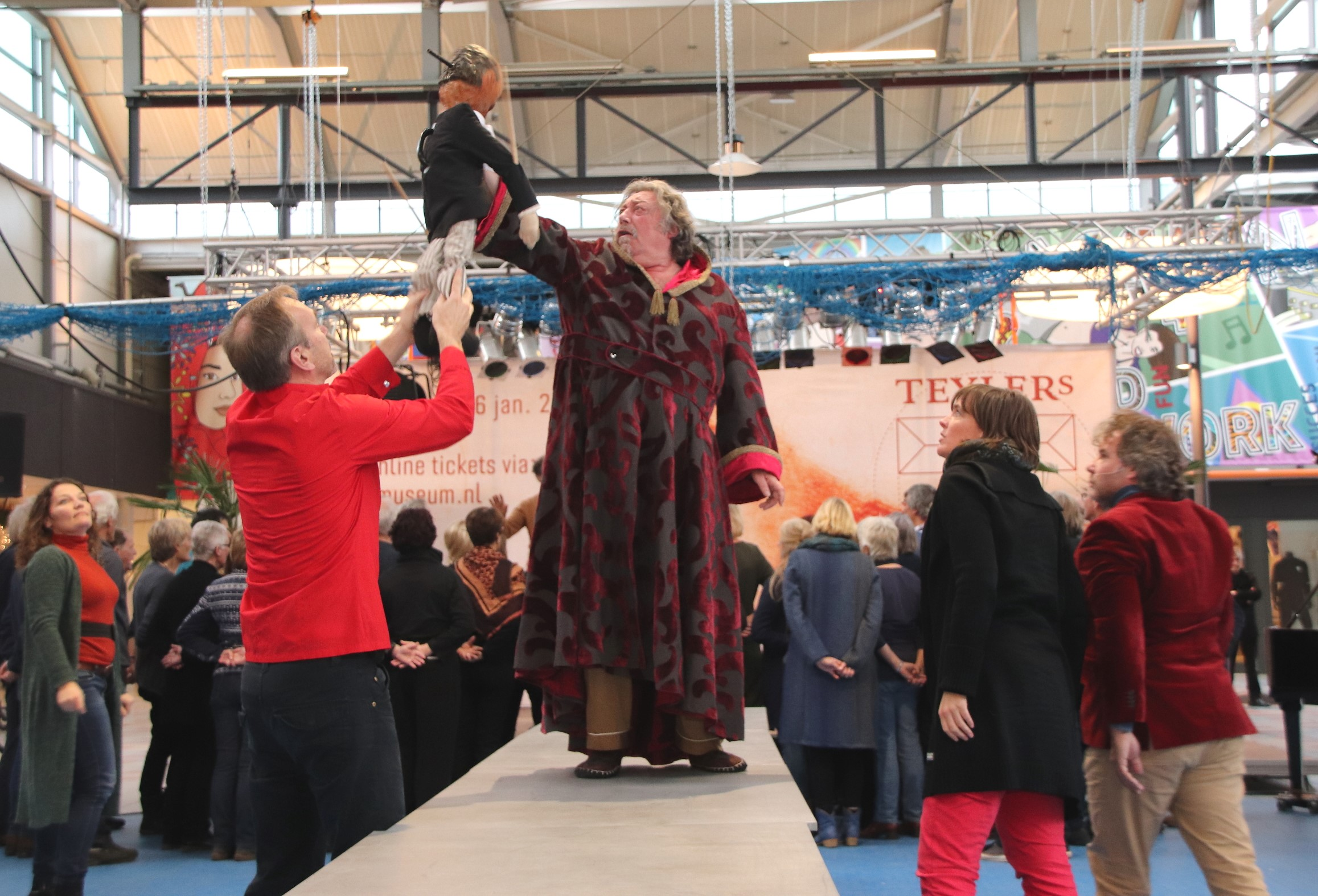 November is cultuurmaand in Schalkwijk met mooie optredens (Foto: Willem Brand )