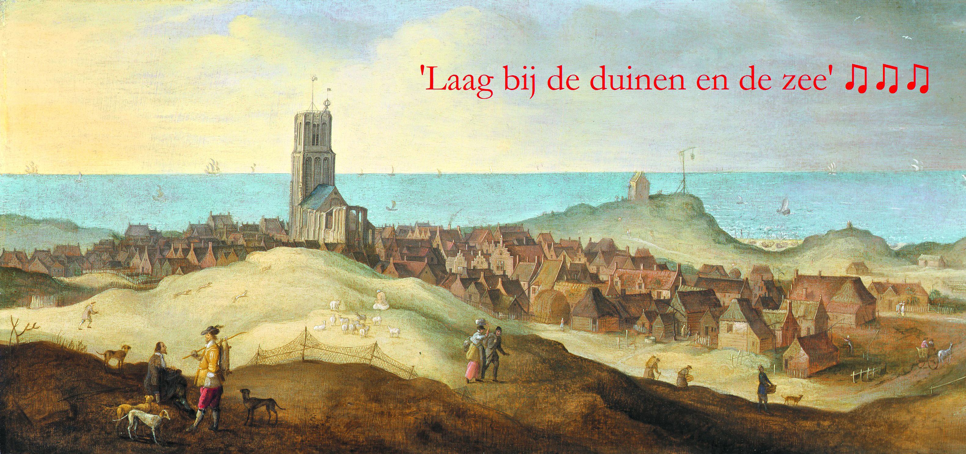 'Gezicht op Egmond aan Zee' (na 1635) Claes Jacobsz van der Heck, meester van Alkmaar. (Foto Stedelijk Museum Alkmaar).
