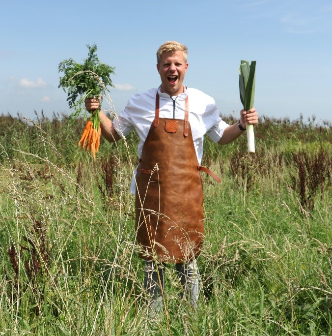Thijs den Hartigh, chef en eigenaar van Thijs Thuis in Eten. (Foto: aangeleverd)