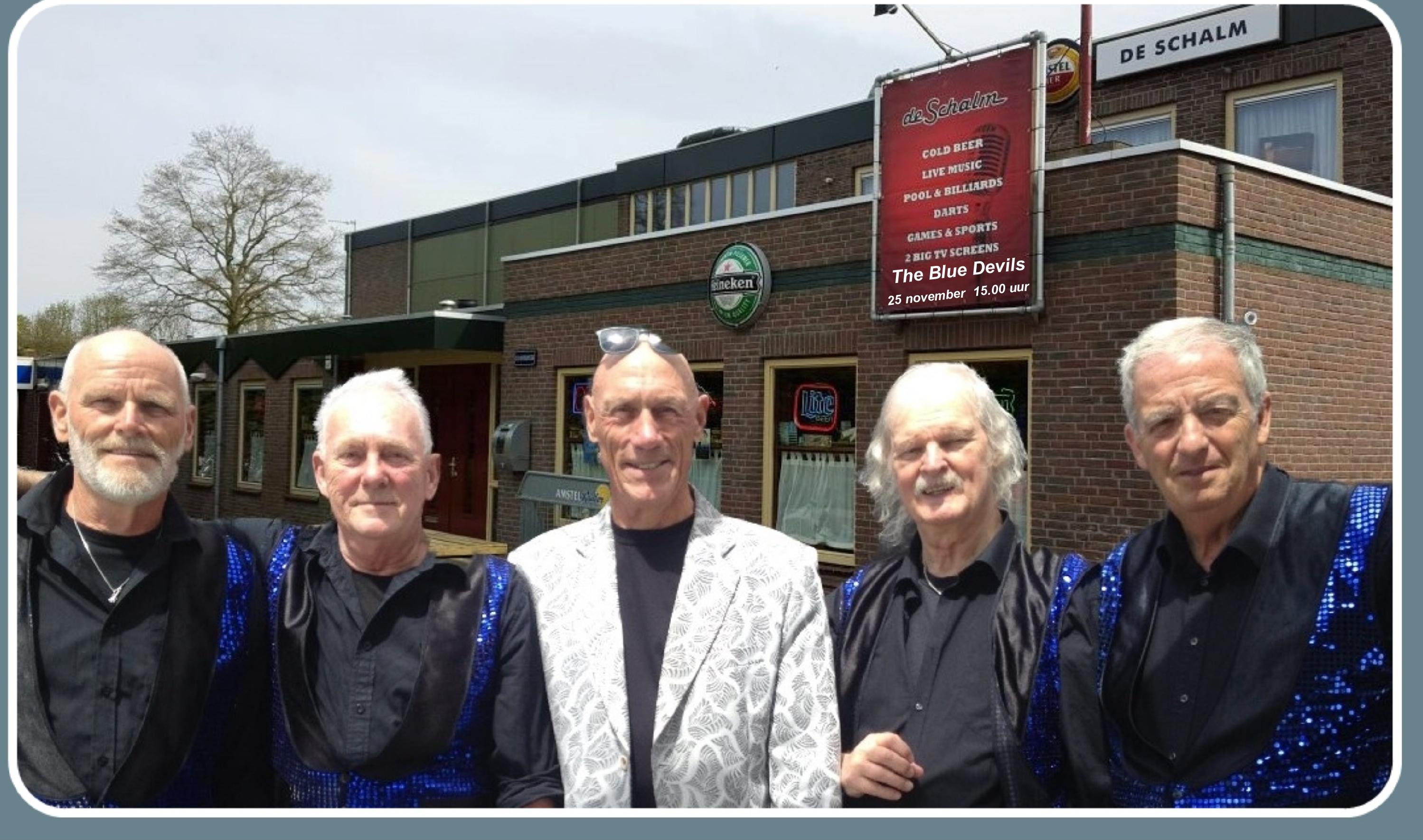 Sixtiesband The Blue Devils neemt het publiek mee terug naar de jaren zestig. (Foto: aangeleverd)