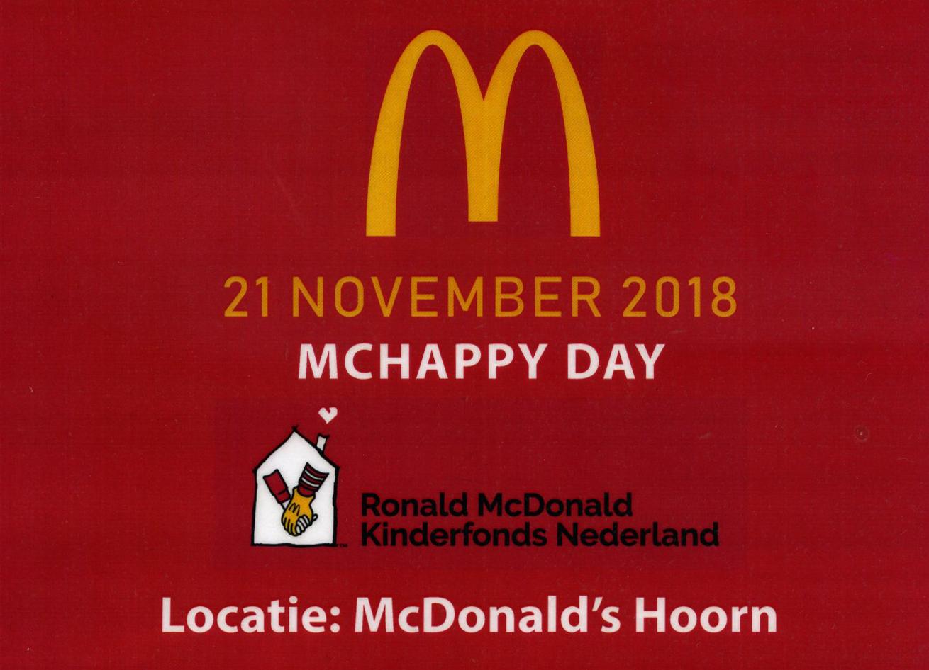 McHappy Day bij McDonald's Hoorn