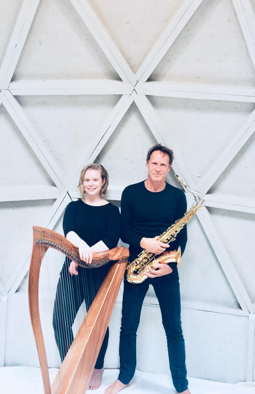 Aisling Urwin en André van de Hoff. (Foto: aangeleverd)