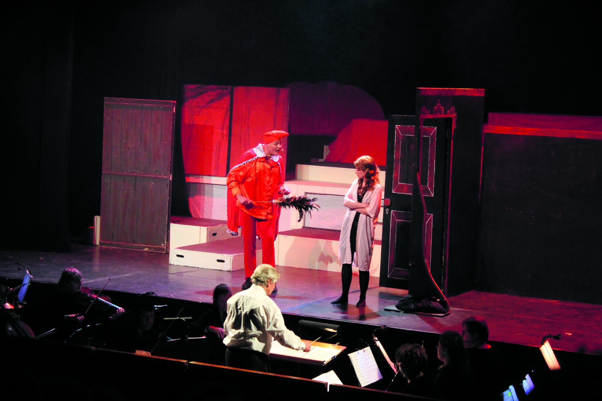 Scene uit Orpheus. (Foto: JWvD)
